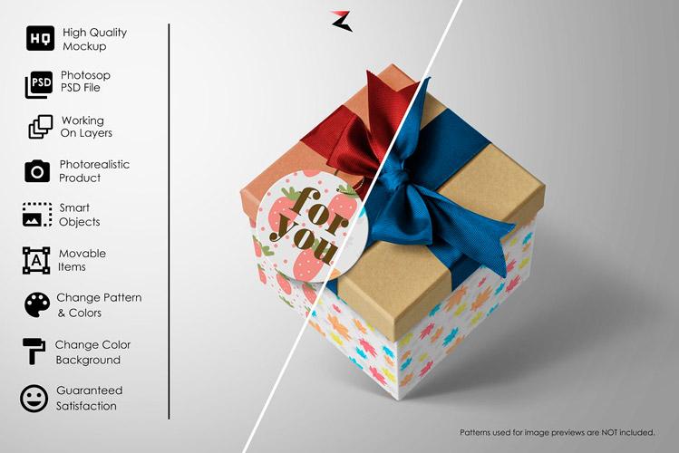 gift box mockup gallery3