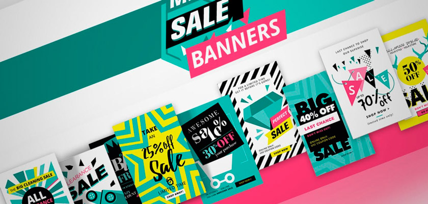 Social media sale banners free