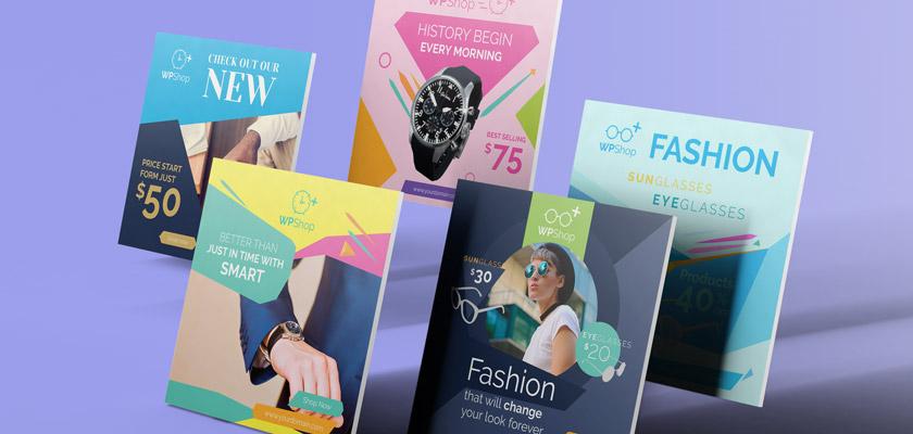 Instagram fashion posts pack