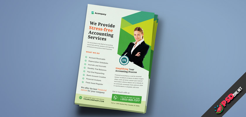 accountant flyer free