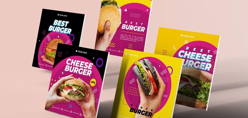 Burger House Instagram post