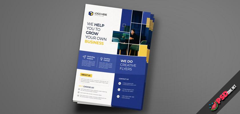 Business Marketing Flyer free
