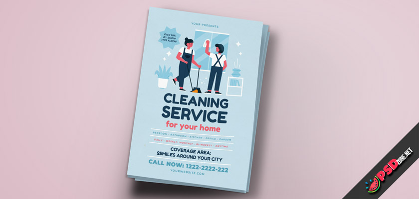 house cleaning service template free