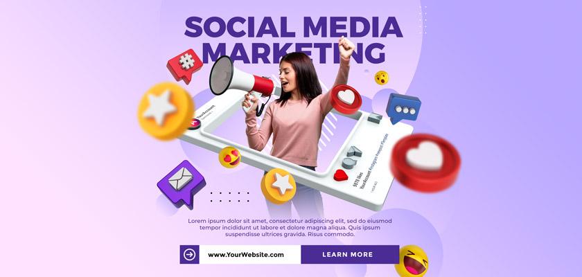 Instagram social media marketing design