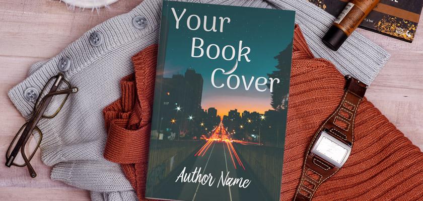 brilliant Hardcover Book Mockup