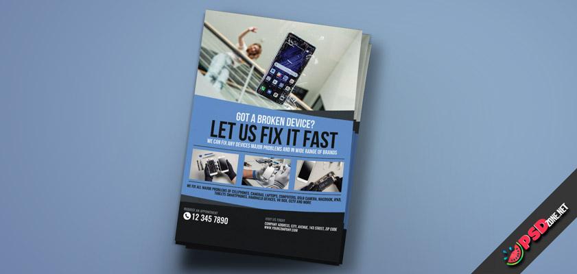 mobile Phone Repair Flyer free