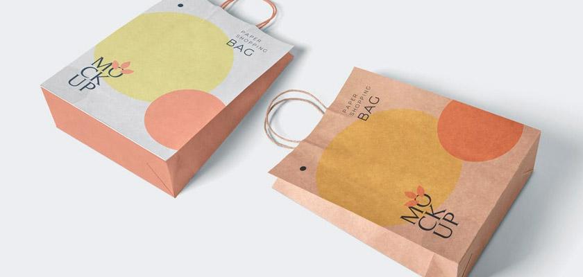 Shopping Bag Mockup free