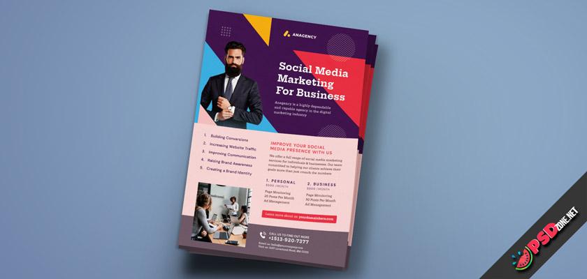 SMM flyer design free