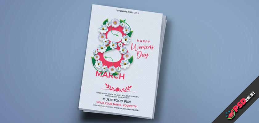 International Women's Day flyer free
