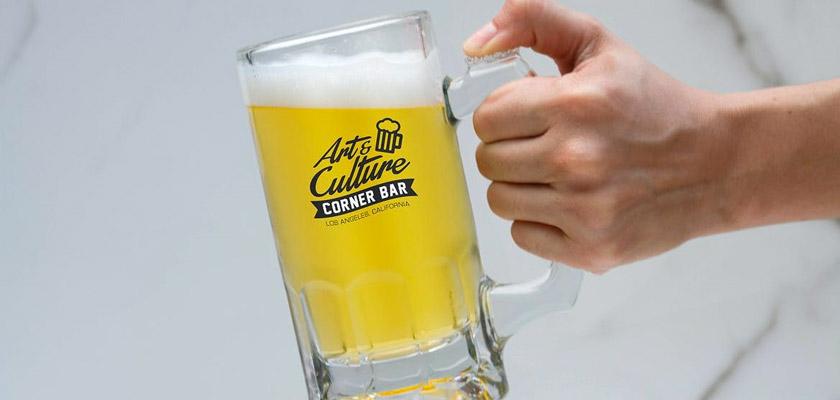 Beer Jar Mockup psd free