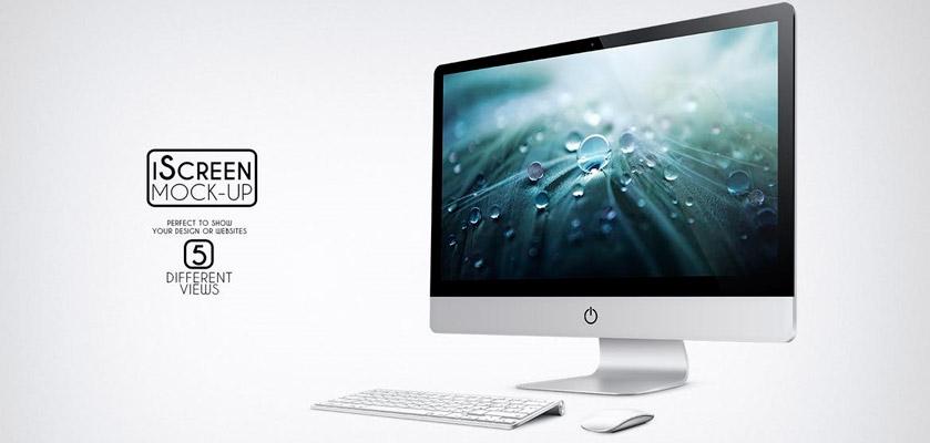iMac Computer Mockup