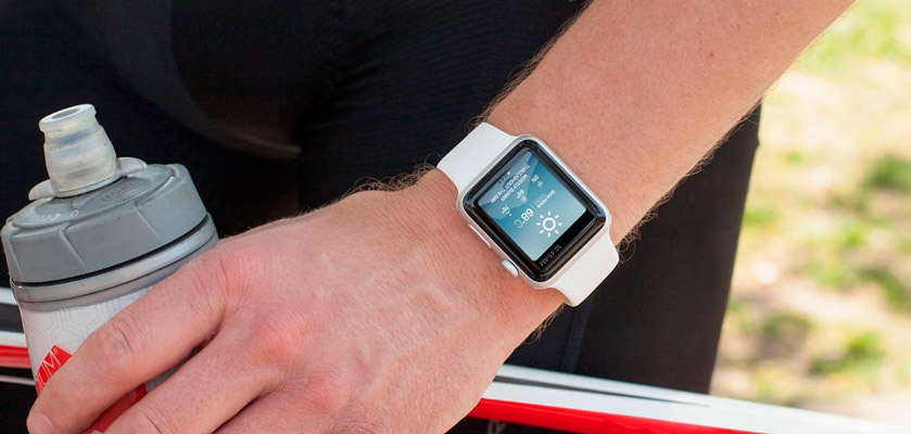 Apple Watch On The Hand mockup