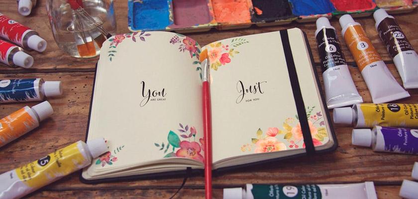 artist's notebook design